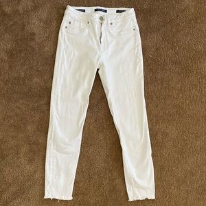 """Vigoss """"The Jagger"""" High-rise skinny cropped jeans"""